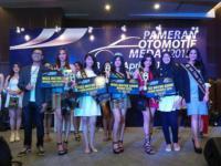Vivi Miss Motor Show Medan 2015
