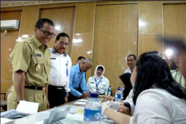 BNNK Adakan Pemeriksaan Urin Mendadak di Jajaran SKPD Binjai