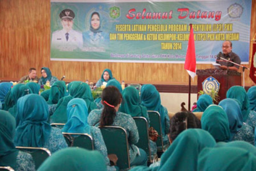 LP3 PKK dan TPK3 PKK Kota Medan Tahun 2014 Digelar