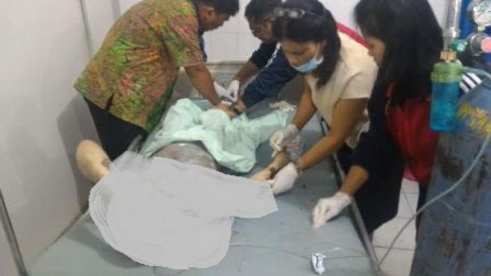 Dua Korban Sinabung Mulai Masuki Kondisi Stabil