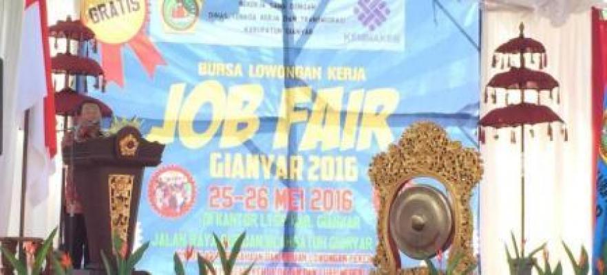 Job Fair, Salah Satu Upaya Pemerintah Percepat Penyerapan Tenaga Kerja