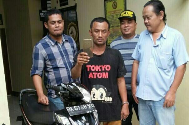 Modus Pencuri HP yang Ditangkap Polsek Medan Barat dengan Berpura-pura Mencari Kawan