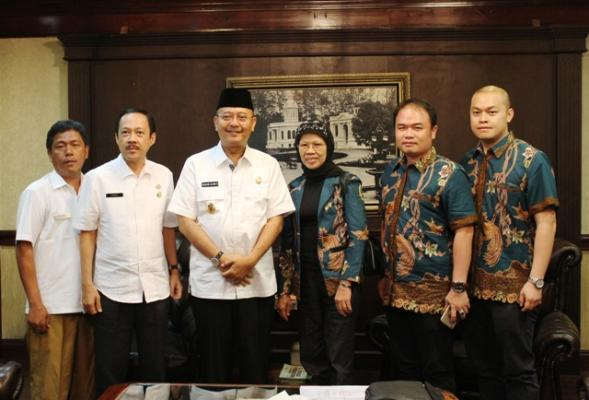 Audiensi dengan Walikota Medan, APSINDO Sampaikan Bidik Limbah Plastik dari TPA