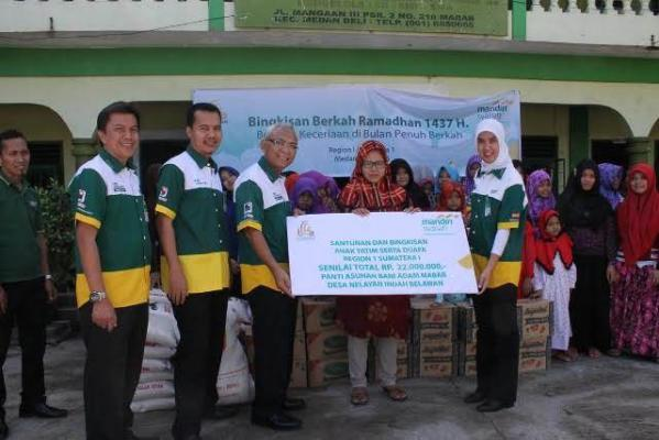 BSM Santuni Ratusan Anak Yatim dan Warga Kampung Nelayan