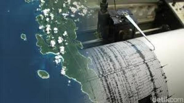 Gempa 5,3 SR di Tenggara Mentawai Dirasakan Kuat Selama 20 Detik