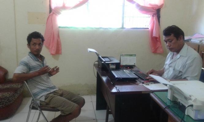Polres Binjai Tangkap Pengedar Sabu di Desa Sendang Rejo