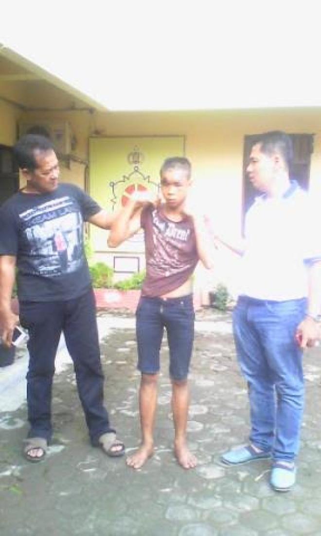 Spesialis Perampok Angkot di Kawasan Amplas Dibekuk Polsek Patumbak