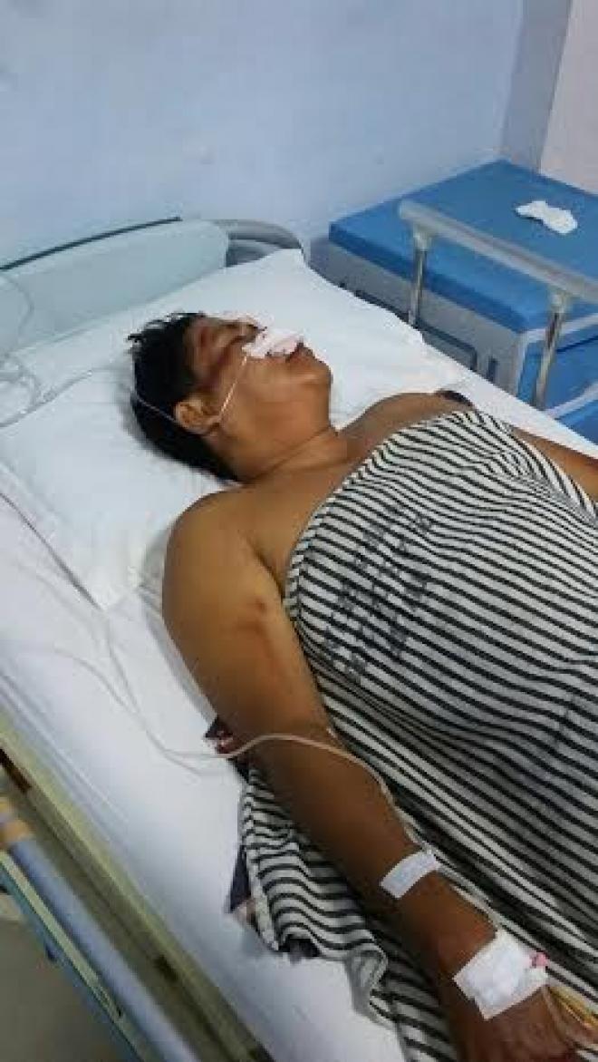 Anggota TNI Kritis Ditabrak Lari di Jalan SM Raja Medan