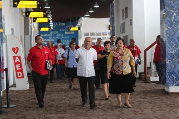 Ketua Watimpres Kunjungi Pelindo 1