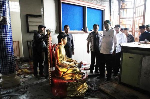 Pasca Kerusuhan Tanjung Balai, Gubsu Imbau Perkuat Koordinasi Lintas Agama