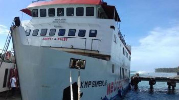 Transportasi Laut di Nias Selatan Kembali Beroperasi