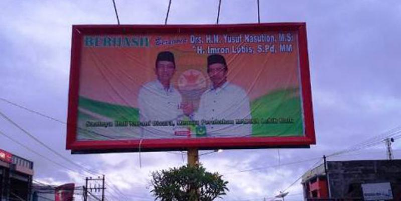 Hanura Surati Panwaslu Madina Soal Baliho