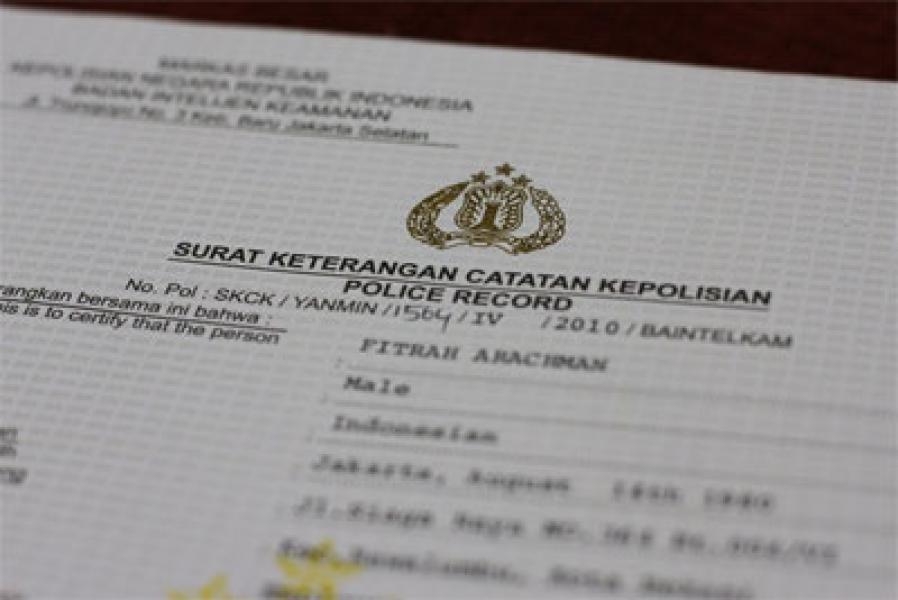 Prosedur Pembuatan Skck Portal Berita Sumatera Utara
