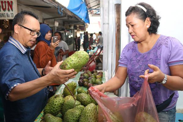 Hari Ini, Ramadhan Pohan Blusukan ke Tiga Pasar