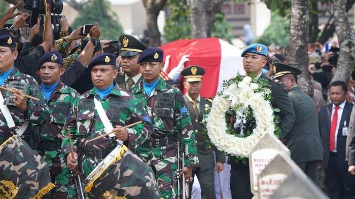 Panglima TNI Hadiri Pemakaman Presiden ke-3 RI BJ Habibie