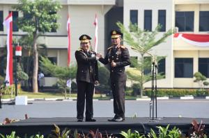 Panglima TNI Hadiri Upacara Panji-Panji Polri Tribrata