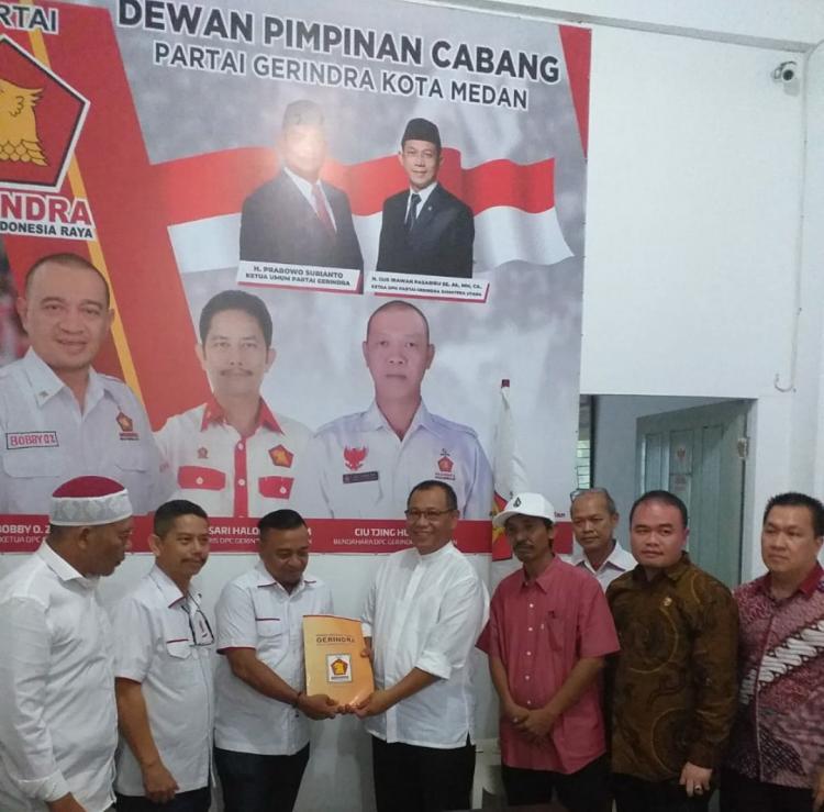 Pilkada Medan, Akhyar Nasution Mendaftar ke Partai Gerindra