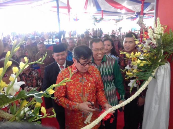 Menkum Ham Resmikan 14 UPT se Sumatera Utara di Lubuk Pakam