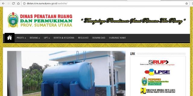 Website Bermasalah, Pimpinan SKPD Pemprovsu Dinilai Tak Peduli