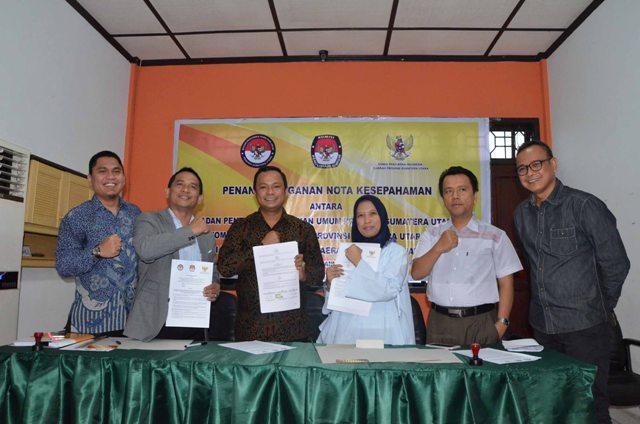Bawaslu, KPU dan KPID Sumut Bersama Awasi Kampanye di Tapteng dan Tebingtinggi