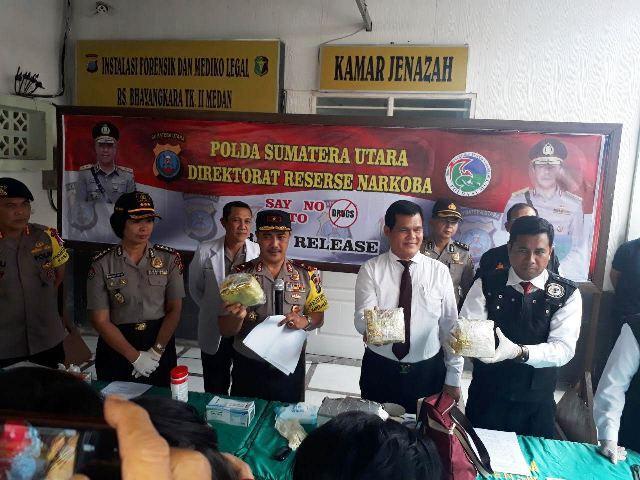 Tiga Pelaku Sindikat Narkoba Internasional Tewas Ditembak Polisi di Medan
