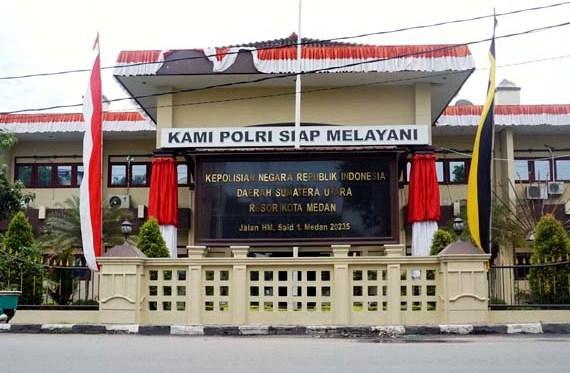 Transaksi Narkoba di RTP Mapolrestabes Medan Berhasil Digagalkan Personil Sabhara