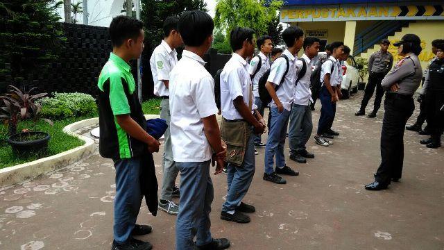 Asyik Main Warnet dan di Taman Stadion Teladan, Belasan Pelajar Terjaring Razia Kasih Sayang