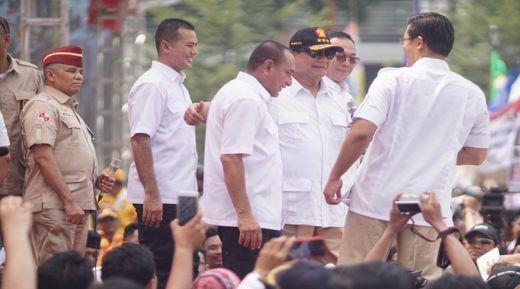 Didukung untuk Nyapres, Prabowo Minta Menangkan Edy-Ijeck di Pilgub Sumut