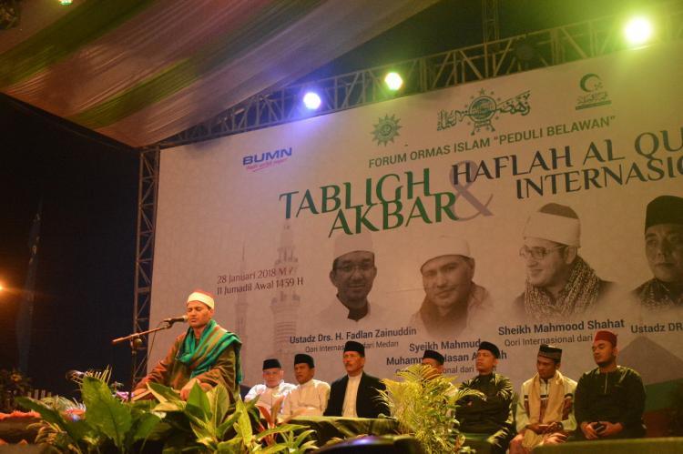 Pelindo 1 Gelar Tabligh Akbar dan Haflah Al Quran