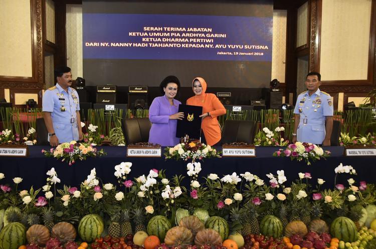 Ketua Umum Dharma Pertiwi : Tumbuhkan Budaya Saling Asah, Asih dan Asuh di Organisasi