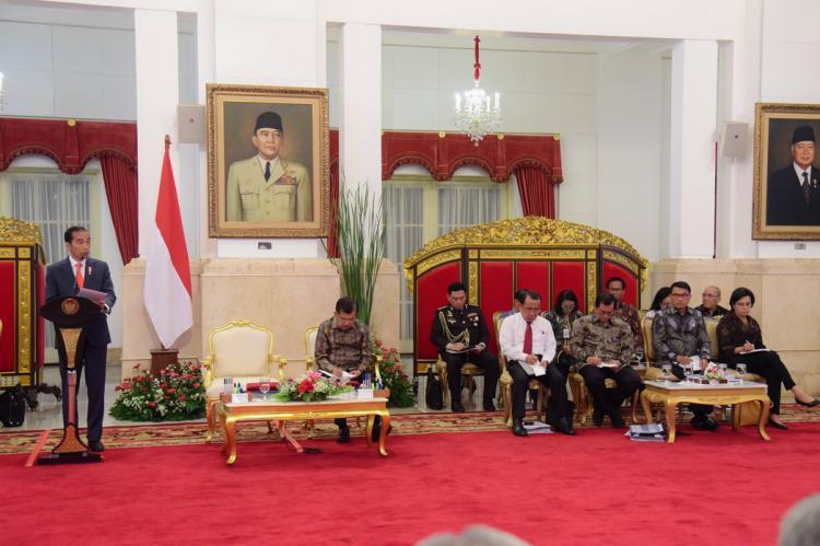 Presiden Jokowi Optimistis Pileg dan Pilpres 2019 Berlangsung Aman, Damai dan Demokratis