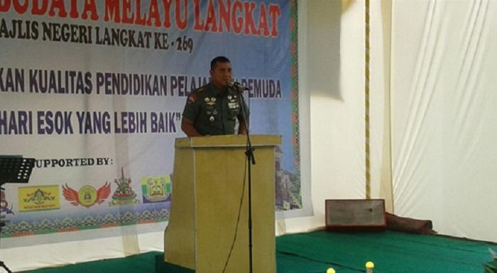Dandim 0203/Langkat Bangga Gebyar dan Seni Budaya Melayu Langkat Disambut Antusias Warga