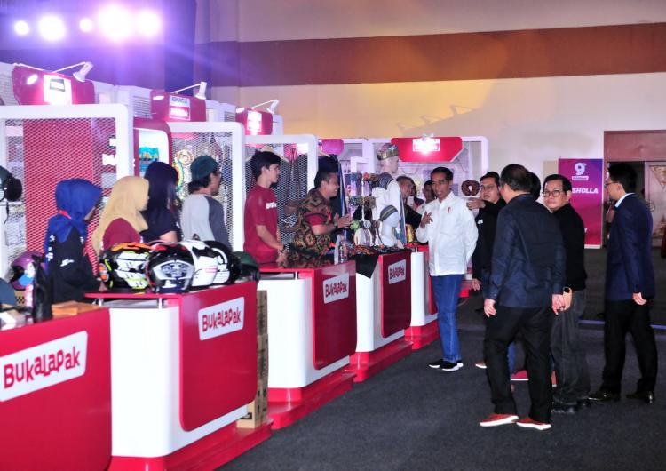Presiden Jokowi: Jangan Sampai Produk Online Dikuasai Luar Negeri