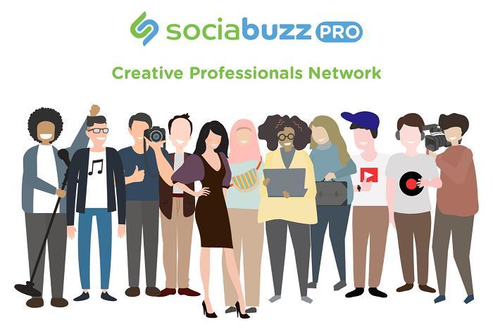 SociaBuzz Pro Resmi Diluncurkan, Marketplace Buat Para Konten Kreator dan Pekerja Kreatif