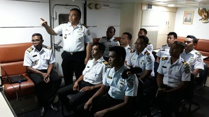 ABK Bakamla RI Terima Pembekalan Hukum Laut Internasional