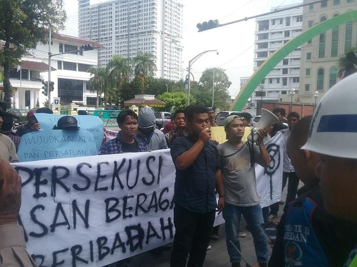 Tak Ada Anggota Dewan, GMKI Medan: Kalian Jangan Makan Gaji Buta