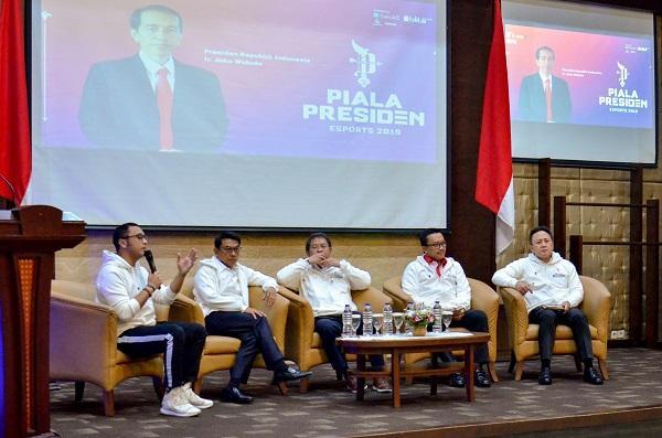 Pemerintah 'Tantang' Para Gamers di Ajang Piala Presiden Esports 2019
