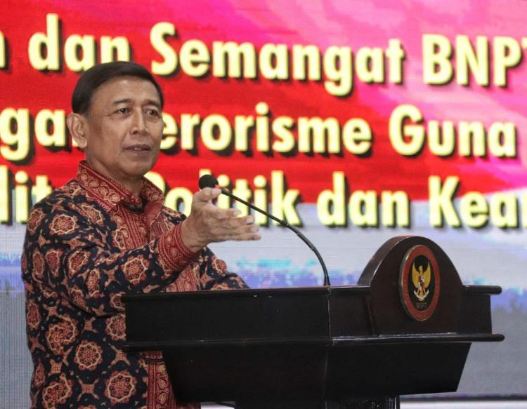 Menko Polhukam Ajak Masyarakat Dukung Pengamanan Pemilu 2019