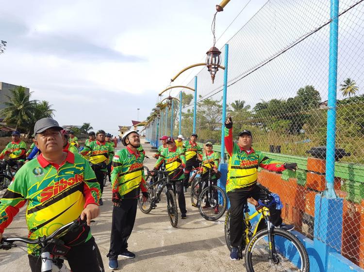 Walikota Sibolga Tinjau Pembangunan Objek Wisata Pantai Ujung Sibolga
