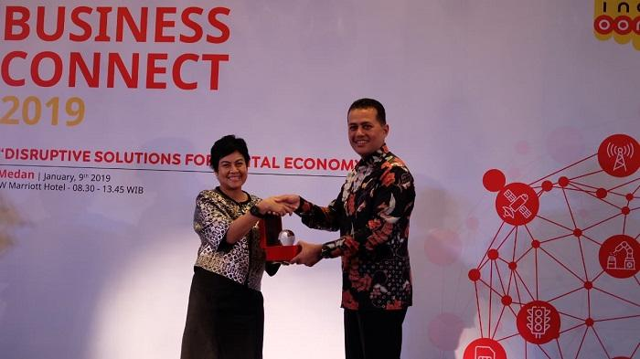 Indosat Ooredoo Business Connect Medan 2019, Wagubsu: Digitalisasi Percepat Laju Ekonomi