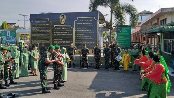 Laksanakan Serbuan Teritorial, Danrem 022/PT Kunker ke Kodim 0203/Langkat