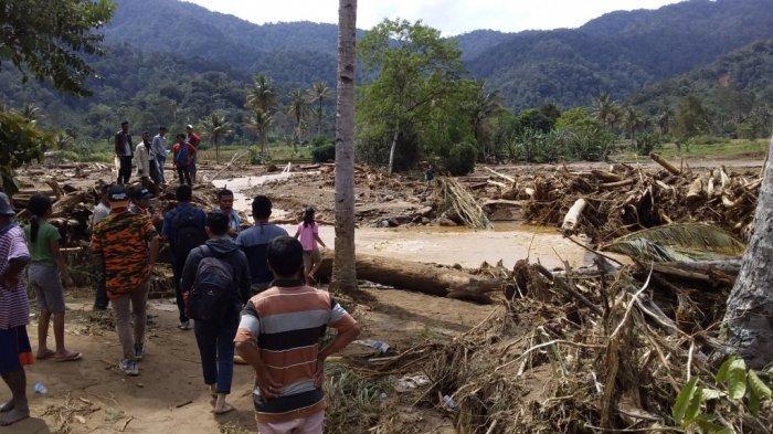 Diduga Ada Indikasi Pembalakan Liar, Polda Sumut Lakukan Penyelidikan Terkait Banjir Bandang di Dairi