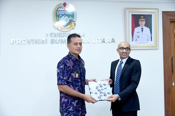 Pemprovsu dan Singapura Jajaki Kerjasama Peningkatan Kualitas SDM