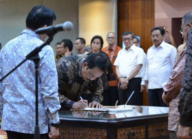 Jaga Momentum Investasi, Menko Perekonomian Lantik Edy Putra Irawadi Jadi Kepala BP Batam
