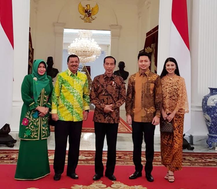 Undang Tengku Erry Ke Istana, Presiden Ucapkan Selamat untuk Ryan dan Ariska