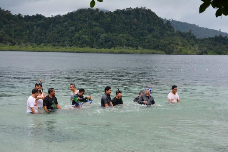 Pulau Putri yang Mengundang Decak Kagum Walikota Sibolga