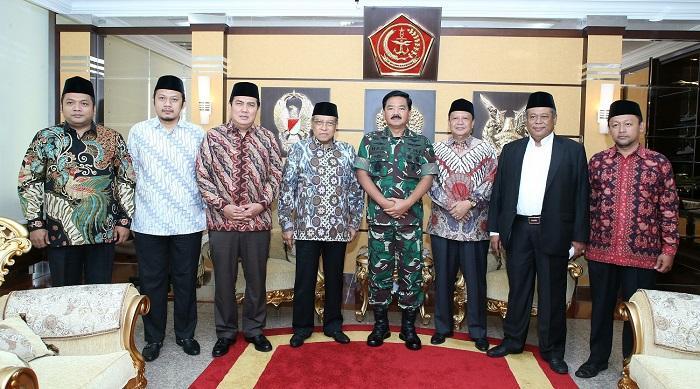 Panglima TNI Terima Kunjungan Ketua Umum PBNU