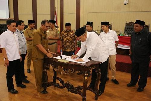 Pemko dan DPRD Kota Medan Setujui Ranperda Tentang Pencegahan dan Peningkatan Kualitas Terhadap Perumahan Kumuh dan Pemukiman Kumuh