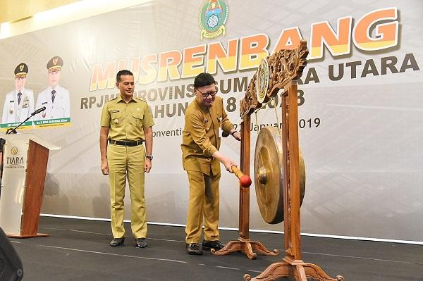 Musrenbang RPJMD Provinsi Sumut 2018-2023 , Mendagri Ingatkan RPJMD Harus Sinkron dengan Program Strategis Pusat