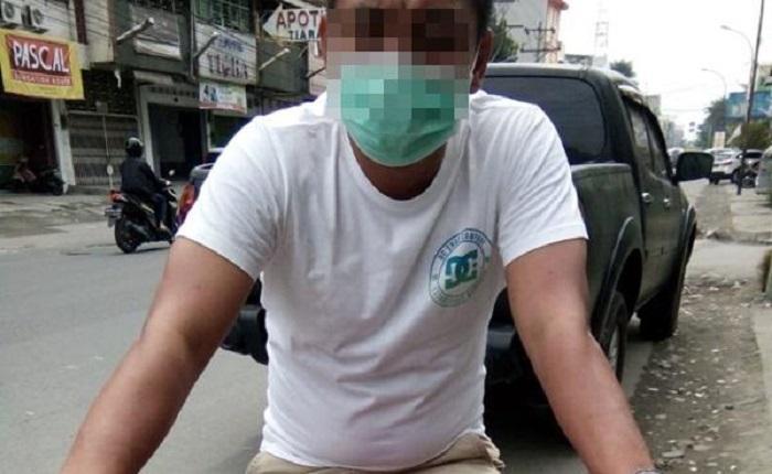 Simpan Sabu Dalam Mulut, Aksi Pria Ini Tetap Terciduk Polisi